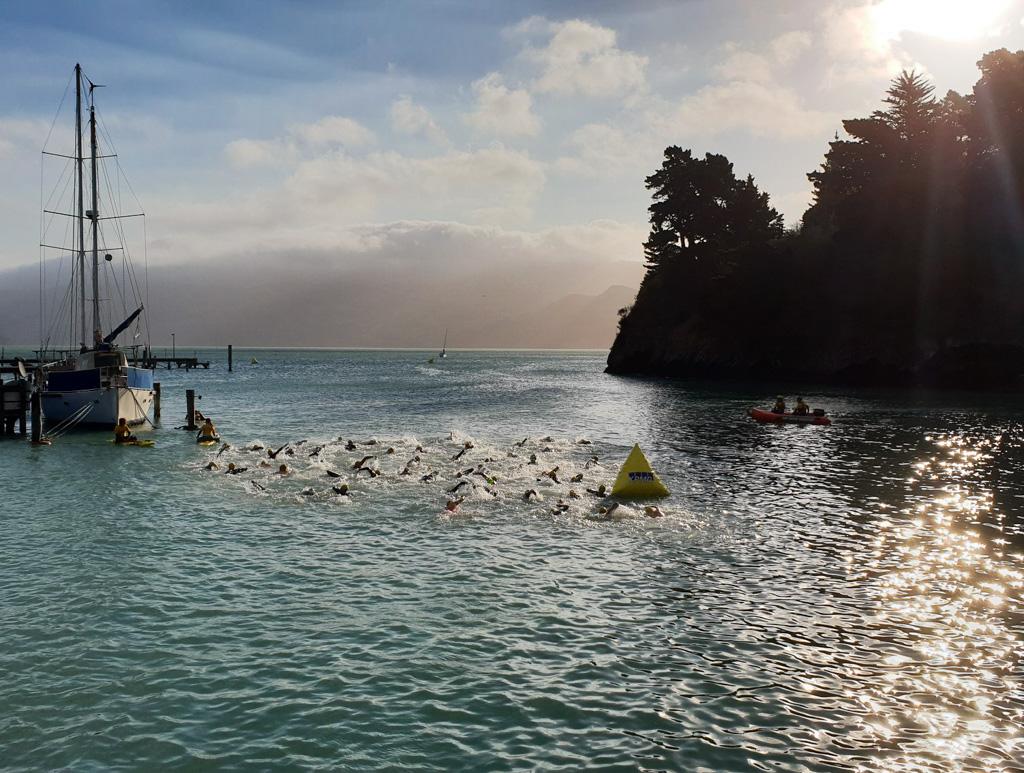 Swim racing